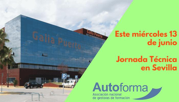 Este miércoles 13 de junio. Jornada Técnica en Sevilla.