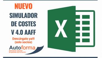 Nuevo (Excel) simulador de costes 4.0 Acciones formativas
