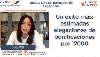 El SEPE estima una alegación de un PIF a uno de nuestros asociados por más de 17000 euros