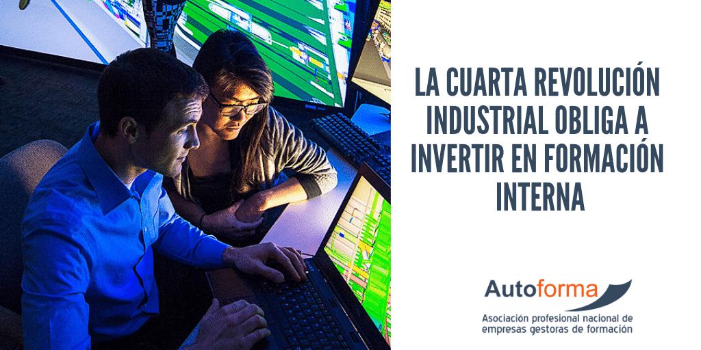 La cuarta revolución industrial obliga a invertir en formación interna