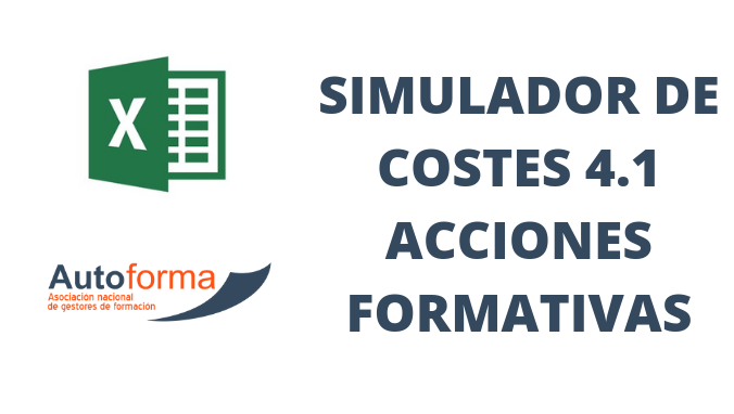 (Excel) Simulador de costes 4.1 Acciones formativas