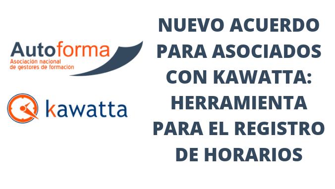 Nuevo acuerdo para asociados con Kawatta: herramienta para el registro de horarios