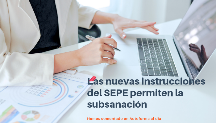 Con las nuevas instrucciones del SEPE, las inspecciones buscarán subsanar antes de crear una incidencia