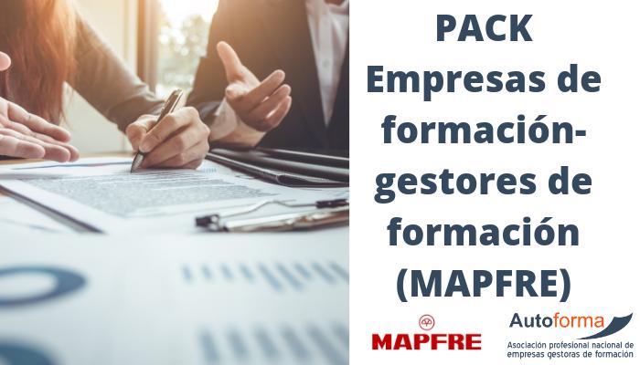 PACK Empresas de formación-gestores de formación (MAPFRE)