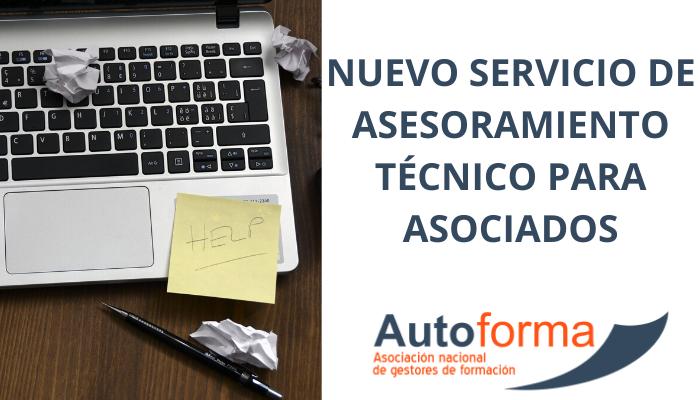 Nuevo servicio de asesoramiento técnico para asociados.